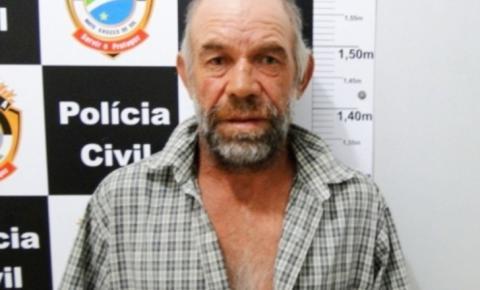 """""""Diabo Loiro"""" é preso suspeito de matar e estuprar a enteada em Sonora"""