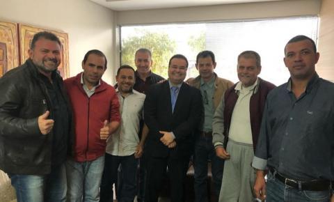 Na Capital, prefeito de Figueirão e vereadores buscam melhorias e investimentos para o município