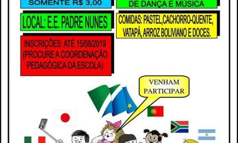14º Festival do Estudante acontece hoje em Coxim