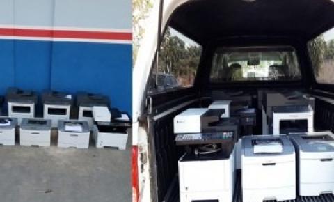 Empresário recolhe impressoras da prefeitura de Coxim alegando falta de pagamento