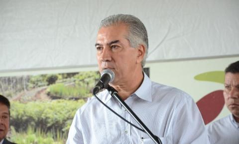 Governador Reinaldo Azambuja estará em Paraíso das Águas nesta sexta-feira