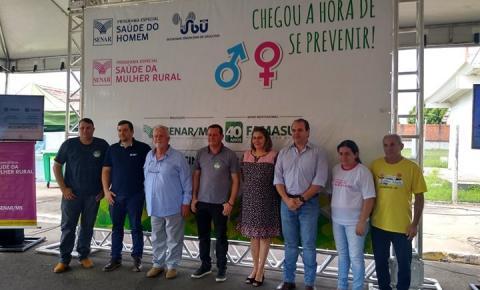Programa Saúde do Homem e da Mulher Rural realiza 315 procedimentos em 100 pessoas no município de Alcinópolis
