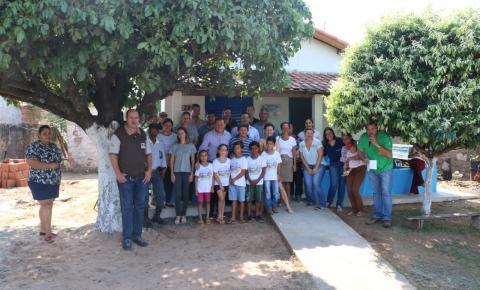 Administração Municipal entrega 12ª obra do programa de reforma e ampliação de casas
