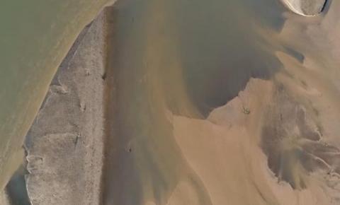 Planalto entrega 660 caminhões de areia ao Taquari por dia, diz estudo