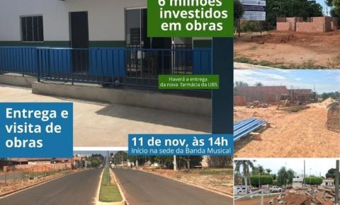 Prefeitura de Alcinópolis convida população para entrega de nova farmácia de UBS