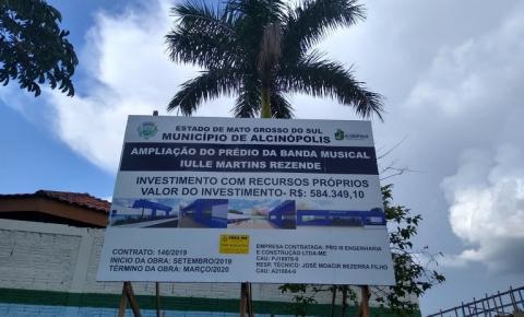 Prefeitura de Alcinópolis investe mais de R$ 6 milhões em obras
