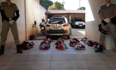 Ladrão de calcinhas ataca varais em MG e é preso com mais de mil peças; ele usava um dos modelos