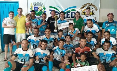 Juvenil vence o Vila Nova e é o Campeão da 5ª Copa Nairo Barcelos de Futebol