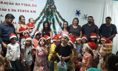 APAE  de Alcinópolis encerra o ano letivo com a Tradicional Confraternização de Natal