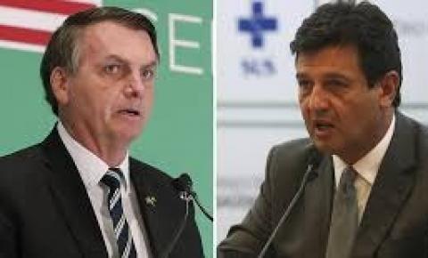 Bolsonaro diz que Mandetta não é humilde e 'extrapolou' na condução da crise