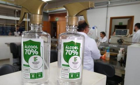 Vendido sem 'moderação', uso de álcool 70 requer cuidado redobrado, orientam Bombeiros