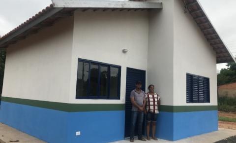 """Programa de Construção de Unidades Habitacionais """"Construindo Sonhos"""". entrega mais uma residência"""