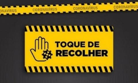 Prefeitura Municipal de Alcinópolis publica decreto com novo horário Toque de Recolher