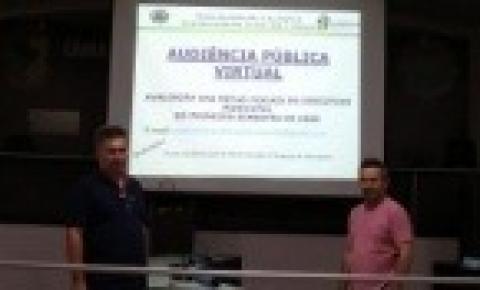 Prefeitura Municipal de Alcinópolis realiza Audiência Pública Cumprimentos das Metas Fiscais - 1º Semestre 2020