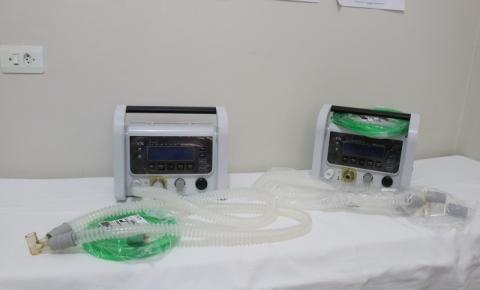 Secretaria Municipal de Saúde recebeu dois respiradores da Deputada Federal Rose Modesto