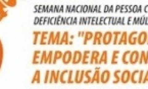 APAE de Alcinópolis promove ações na Semana Nacional da Pessoa com Deficiência Intelectual e Múltipla
