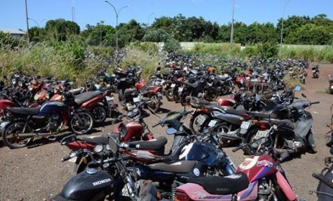 Leilão do Detran tem 1.157 veículos, entre motos e carros, com lance inicial de R$ 400