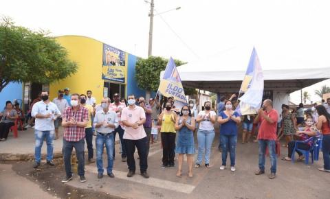 Ildo Furtado fortalece parcerias e inaugura comitê em caminhada pelo cargo de prefeito de Figueirão