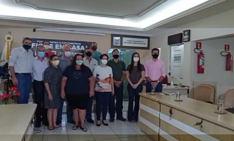 Delegado Cleverson divulga secretariado e anuncia viagem para Brasília