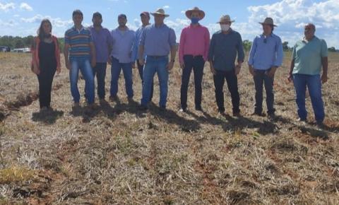 Alcinópolis inicia o segundo ano de experimento com soja em parceria com a Fundação Chapadão
