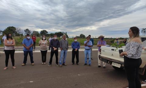 Prefeitura Municipal de Alcinópolis realiza o projeto Plantio da Esperança