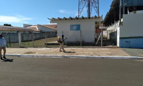 Coordenadoria Municipal de Vetores realiza bloqueio químico na área central para controle da dengue