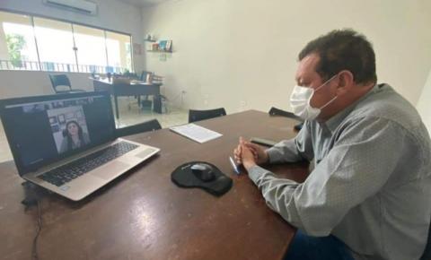 Prefeito de Alcinópolis participa de reunião com deputada federal Rose Modesto