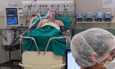 Pacientes com Covid-19 no hospital referência de MS levam média de 10 dias para morrer em UTIs