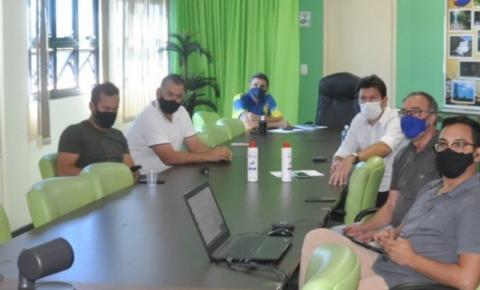 Por videoconferência com prefeito, vice e vereadores de Costa Rica, deputado Fábio Trad confirma emenda para patrulha mecanizada