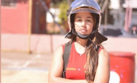 De Pedro Gomes, Sabrinne é a primeira mulher a comandar o Corpo de Bombeiros em Coxim