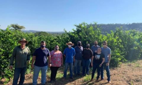 SEMAD e produtores rurais de Costa Rica realizam visita técnica em fazenda de Figueirão