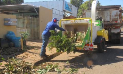 Prefeitura faz ação para manter limpeza urbana