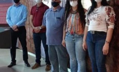 Secretária de educação, professora e vereador de Alcinópolis MS visitam Museu Interativo de Costa Rica.