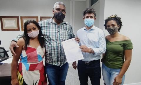 Vice-prefeito de Alcinópolis solicita emenda ao deputado Rinaldo Modesto para revitalização de biblioteca