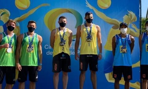 Beneficiários do Bolsa Atleta são campeões da temporada do Circuito Brasileiro Sub-19 de vôlei de praia