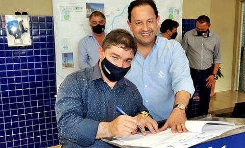 Sanesul entrega e lança quase R$ 2,5 milhões em obras em Coxim