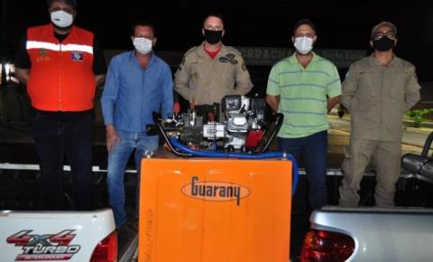 Alcinópolis recebe Kit de Combate incêndio Guarany para pick-up da Semagro