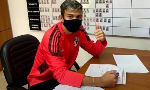 Jogador de Costa Rica, Guilherme Carrijo fecha contrato com o São Paulo