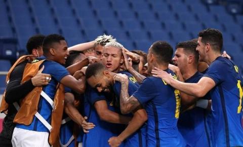 Richarlison brilha de novo, Brasil vence e vai às quartas em Tóquio