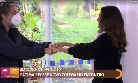 Marcos Mion chora no 'Encontro' ao falar de contratação na Globo: 'Sonho realizado, não vou fingir costume'