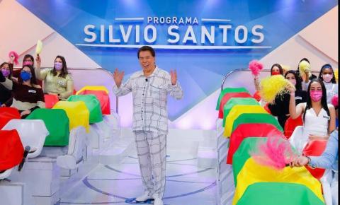 Mesmo tendo contraído Covid, Silvio Santos marca data para voltar a gravar seu programa