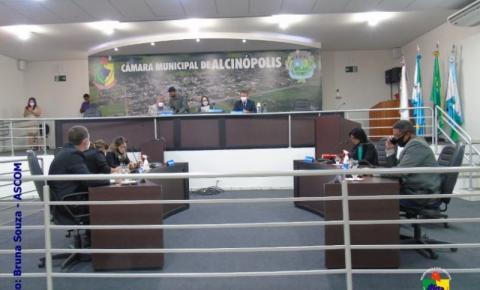 Câmara Municipal de Alcinópolis apresenta três projetos Oriundos do Poder Executivo