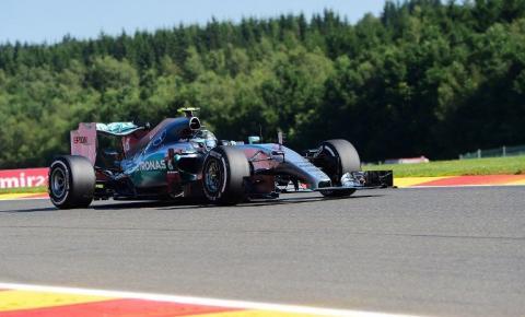Rosberg lidera primeiro treino livre na Bélgica