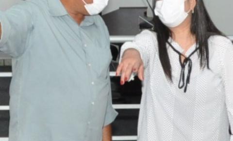 Vereador Passarinho comemora visita de Rose Modesto em Alcinópolis