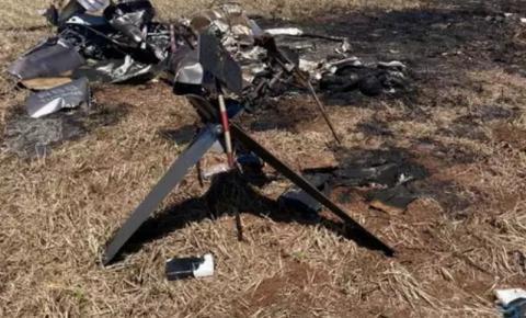 Helicóptero que explodiu com 246 quilos de cocaína era de empresa de SP