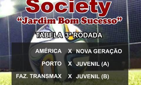 Terceira rodada do 1º Campeonato de Futebol Society é antecipada e acontecera neste sábado (23)