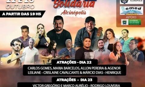 Prefeitura de Alcinópolis realiza Live Solidária nesta sexta-feira e sábado em prol da APAE