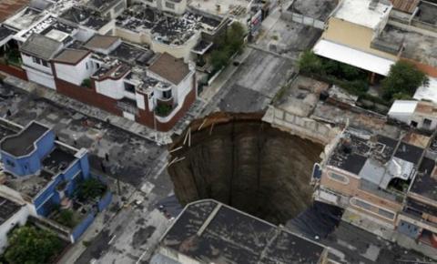 O segredo por trás das crateras que se abrem de repente na terra