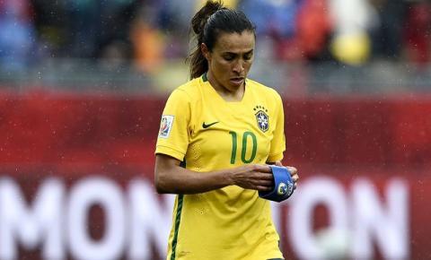Marta fica fora da lista das melhores do mundo