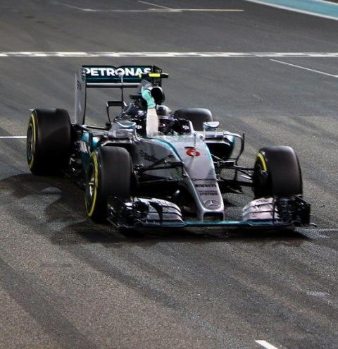 Nico Rosberg vence em Abu Dhabi